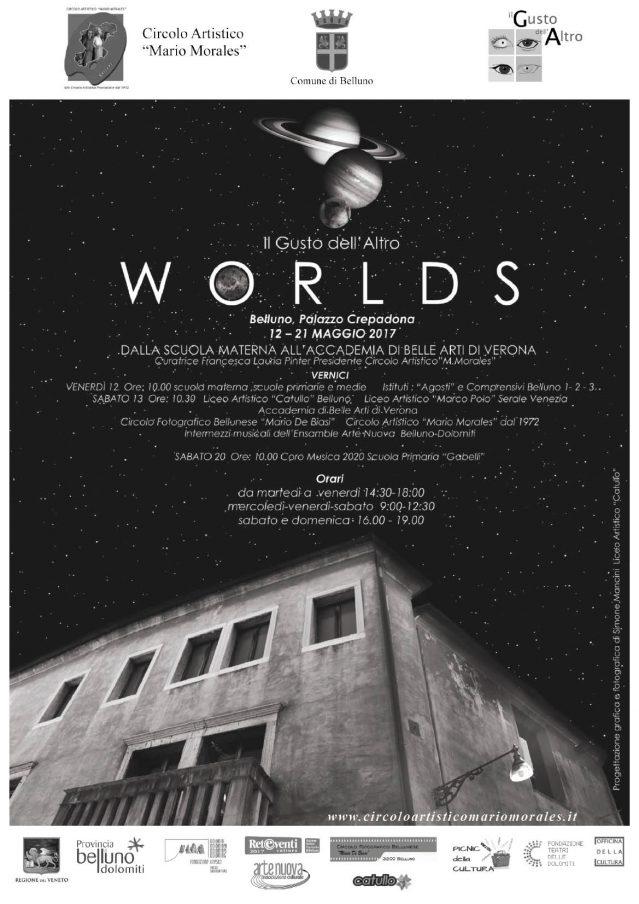 Worlds - Il Gusto dell'Altro | Palazzo Crepadona, Belluno | May 2017